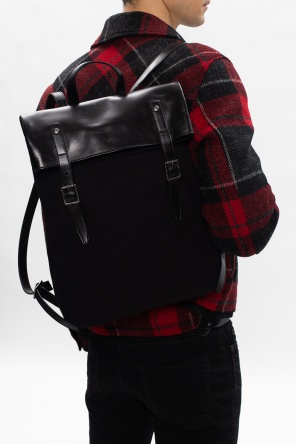 'verneuil' backpack with logo od Saint Laurent