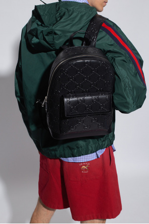 Backpack with logo od Gucci