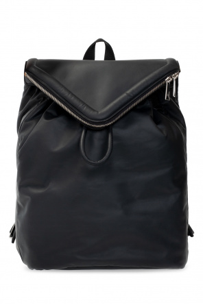 'beak' leather backpack od Bottega Veneta