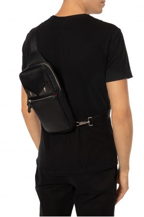 One-shoulder backpack od Fendi