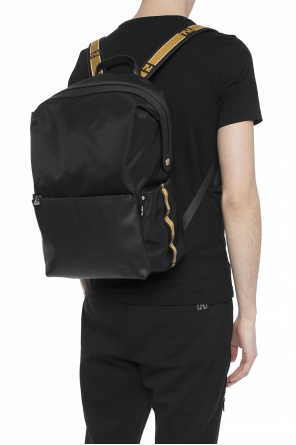 Logo-embossed backpack od Fendi