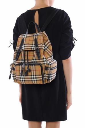 Backpack with a plaid pattern od Burberry