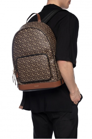 Branded backpack od Burberry