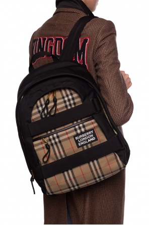 Backpack with logo od Burberry