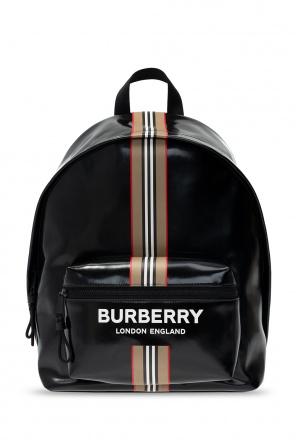 Logo backpack od Burberry