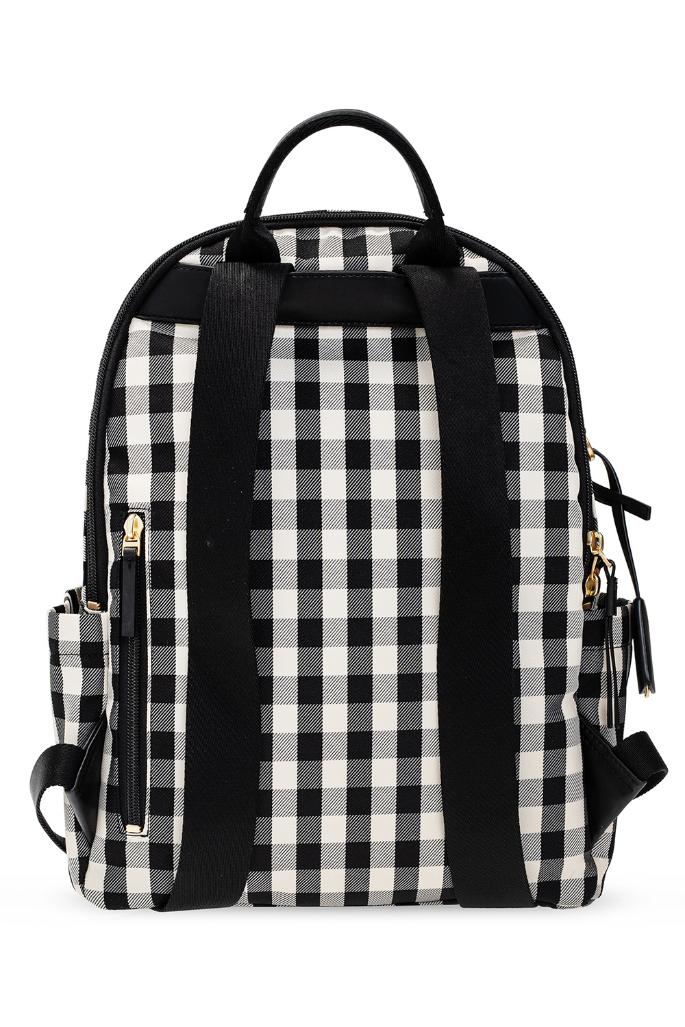 Tory Burch 'Piper Gingham' backpack with logo