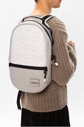 Logo-patched backpack od Coach