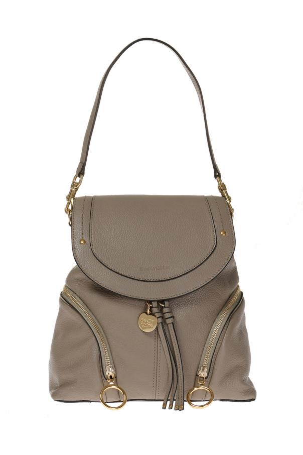 Leather backpack od See By Chloe