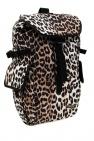 Ganni Animal motif backpack