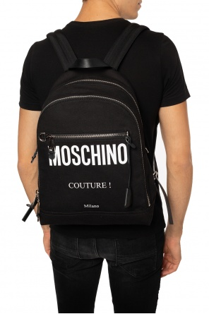 Logo-printed backpack od Moschino