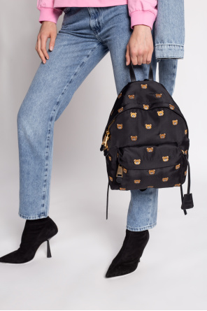Backpack with teddy bear od Moschino