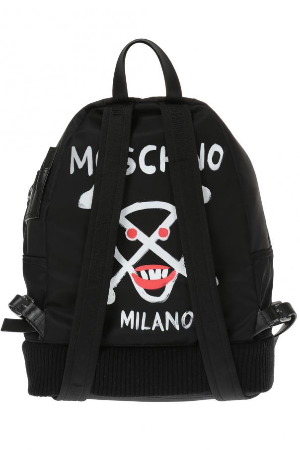 f6f8045b4af Bomber jacket motif backpack Moschino - Vitkac shop online