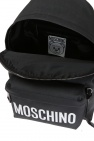 Printed backpack od Moschino