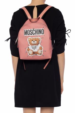 Teddy bear motif backpack od Moschino