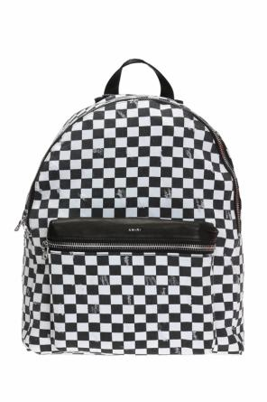 Checked backpack od Amiri