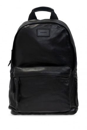 'arena' leather backpack od AllSaints