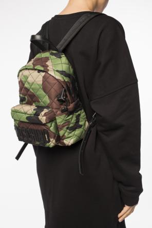 Camo backpack od Moschino