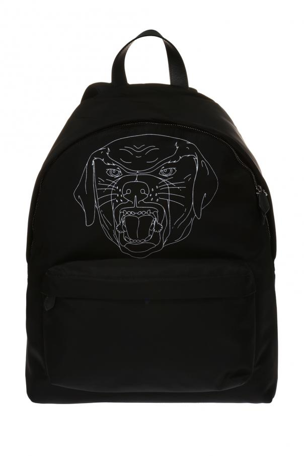 Rottweiler head printed backpack Givenchy - Vitkac shop online a2002858e2f7d