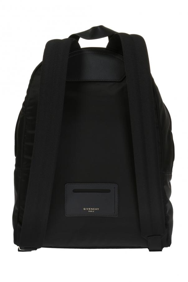 Backpack with inscription od Givenchy