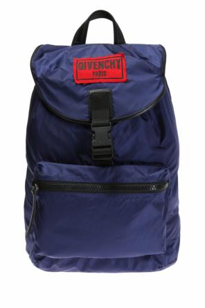 Logo-patched backpack od Givenchy