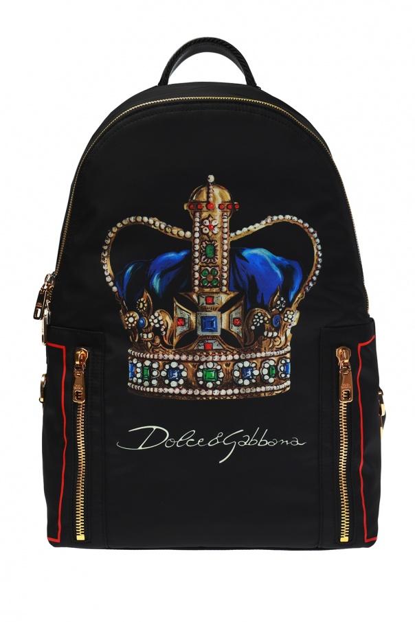 668def9c0678f6  Zaino  printed backpack Dolce   Gabbana - Vitkac shop online