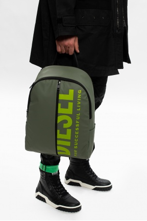 Logo backpack od Diesel