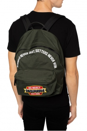 Backpack with a patch od Dsquared2