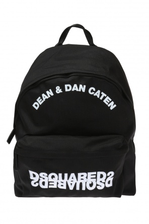 Backpack with inscriptions od Dsquared2