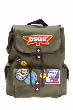 Patched backpack od Dsquared2