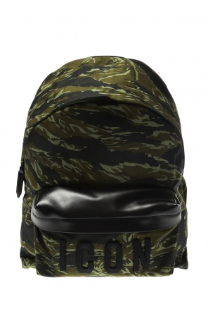 Backpack with raised appliqué od Dsquared2