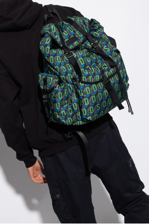 Backpack with logo od Dsquared2
