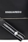 Dsquared2 Leather backpack with logo