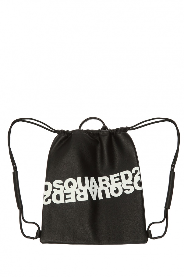 Dsquared2 Leather gymsack