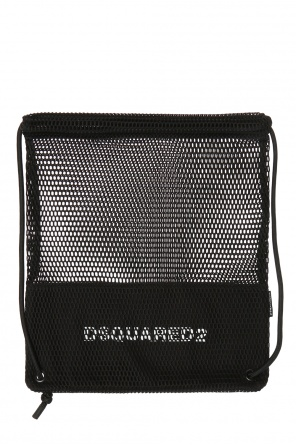 'sack' backpack with a net od Dsquared2