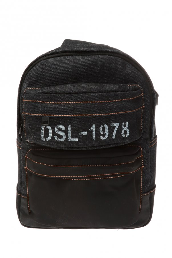 Diesel 'Bregghi' denim backpack