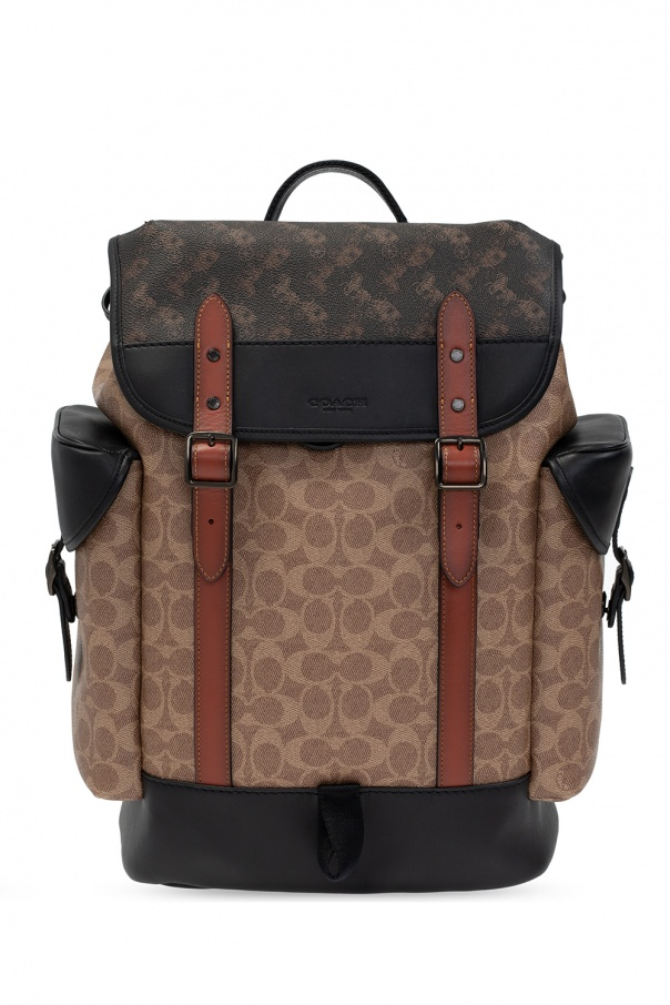 Coach 'Hitch' backpack with logo