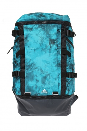 'ops' patterned backpack od Adidas by Kolor