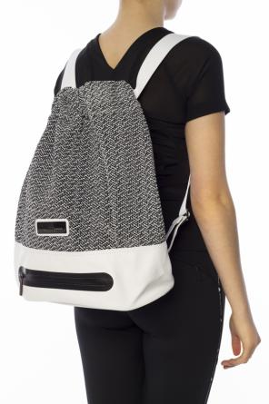 Logo-embossed backpack od Adidas by Stella McCartney