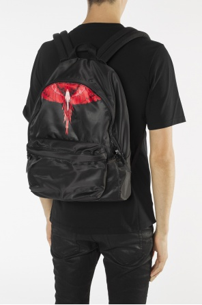 Printed backpack od Marcelo Burlon