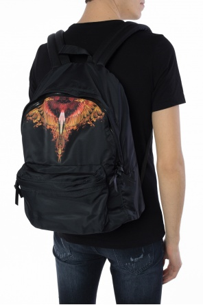 Wings motif backpack od Marcelo Burlon