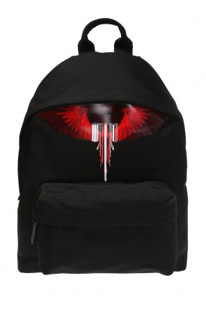 Backpack with a print od Marcelo Burlon