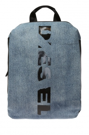 Backpack with a logo od Diesel