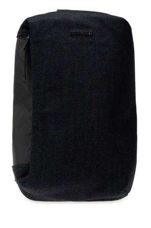 Logo shoulder backpack od Diesel
