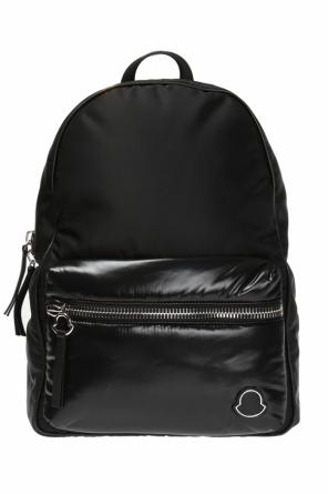Backpack with decorative logo od Moncler