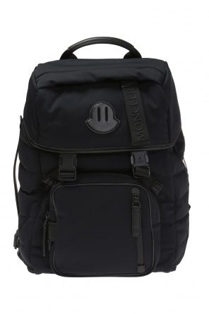 Logo-printed backpack od Moncler