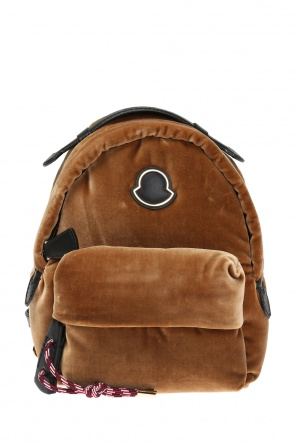 'juniper' velvet backpack od Moncler