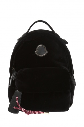 Juniper' velvet backpack od Moncler