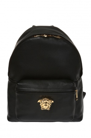 Medusa head leather backpack od Versace
