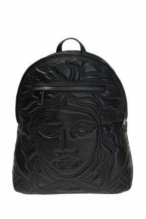 Leather backpack od Versace