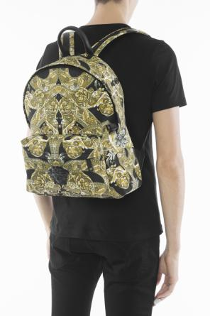 Medusa head patterned backpack od Versace